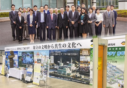 Thank you for the Department of Industrial Promotion, THAILAND visit us at the Shimane Monozukuri Fair, JAPAN.
